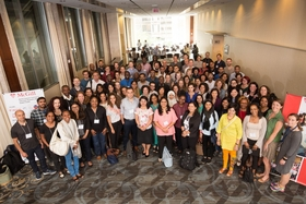 Global health diagnostics course attendees. Photo credited to the University of McGill.